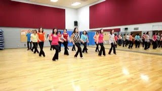 Suspicious Minds - Line Dance (Dance & Teach in English & 中文)