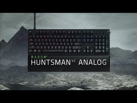 Razer Huntsman V2 Analog | Ascend to Analog