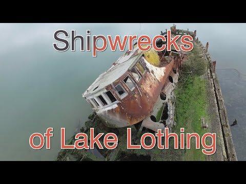 Shipwrecks Of Lake Lothing - Lowestoft - UK - Yellowtail - Platessa - Probe - Eadwine