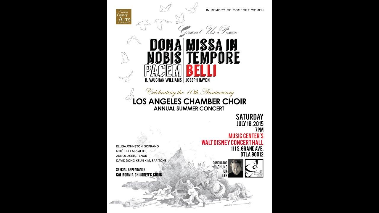 dona nobis pacem choir pdf