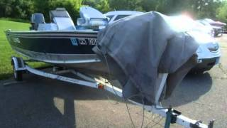 1993 Lund 16ft Angler tiller  Used Boats - Alexandria,Minnesota - 2013-06-25