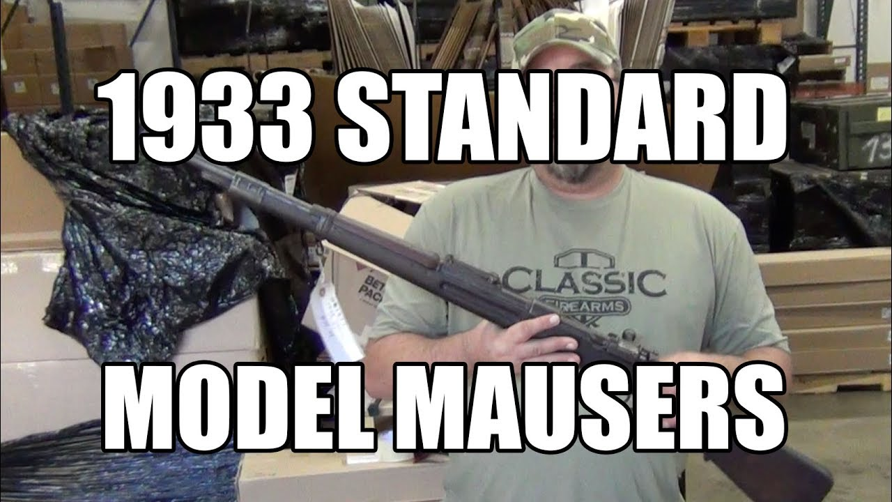 Buy Them By Serial Number - 1933 Standard Model Mausers