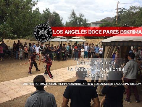 Los Angeles Doce Pares Eskrima demo