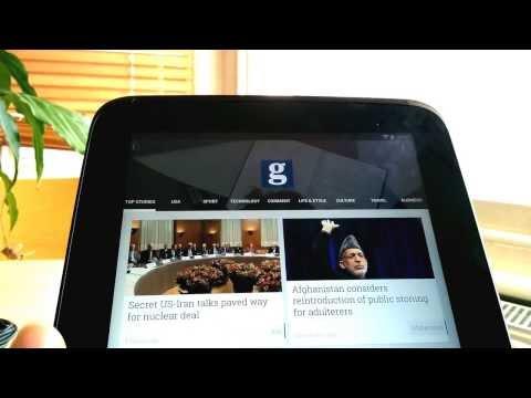 Google Play Newsstand header animation