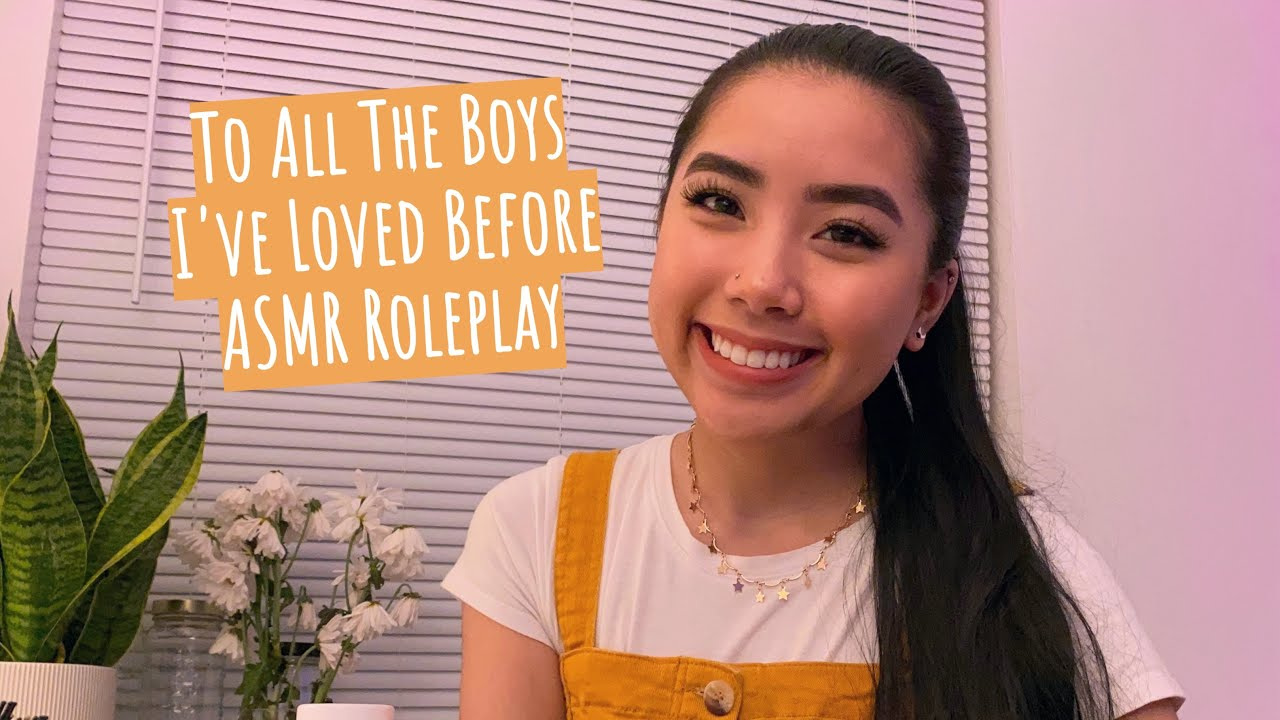 ASMR Lara Jean Roleplay 💫 Teaching You How To Write A Love Letter