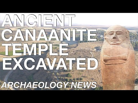ARCHAEOLOGY NEWS - Rare Canaanite Temple Excavated // Biblical Archaeology // Bronze Age History