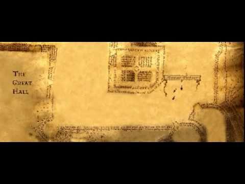 Antar Potter - Mapa del merodeador - YouTube