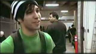 Fall Out Boy-Making of A Little Less Sixteen Candles.. prt1