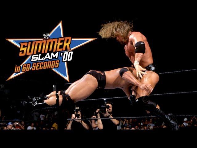 SummerSlam in 60 Seconds: SummerSlam 2000
