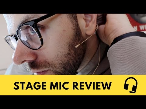 Countryman Headset H6 Review - Best Mic For Stage?