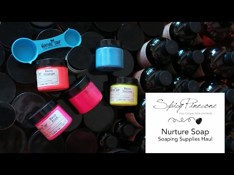 Nurture Soap Haul By Spicy Pinecone