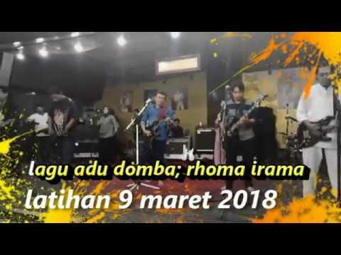 lagu adu domba rhoma irama latihan 9 maret 2018 di soneta record