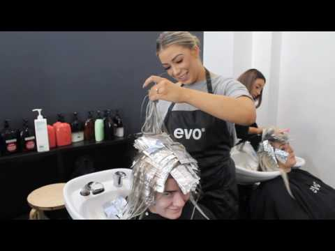 FOILING with Justine Eve  hair&harlow