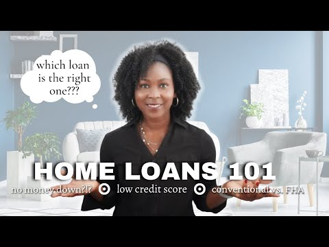 *BREAKING DOWN* different types of mortgages for FIRST-TIME HOMEBUYERS⎟Conventional, FHA, USDA, VA