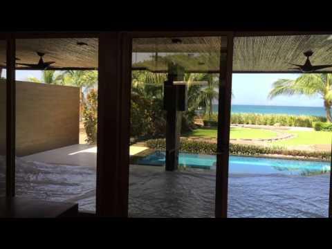 BeachFront House For Sale Costa Rica   Modern Design