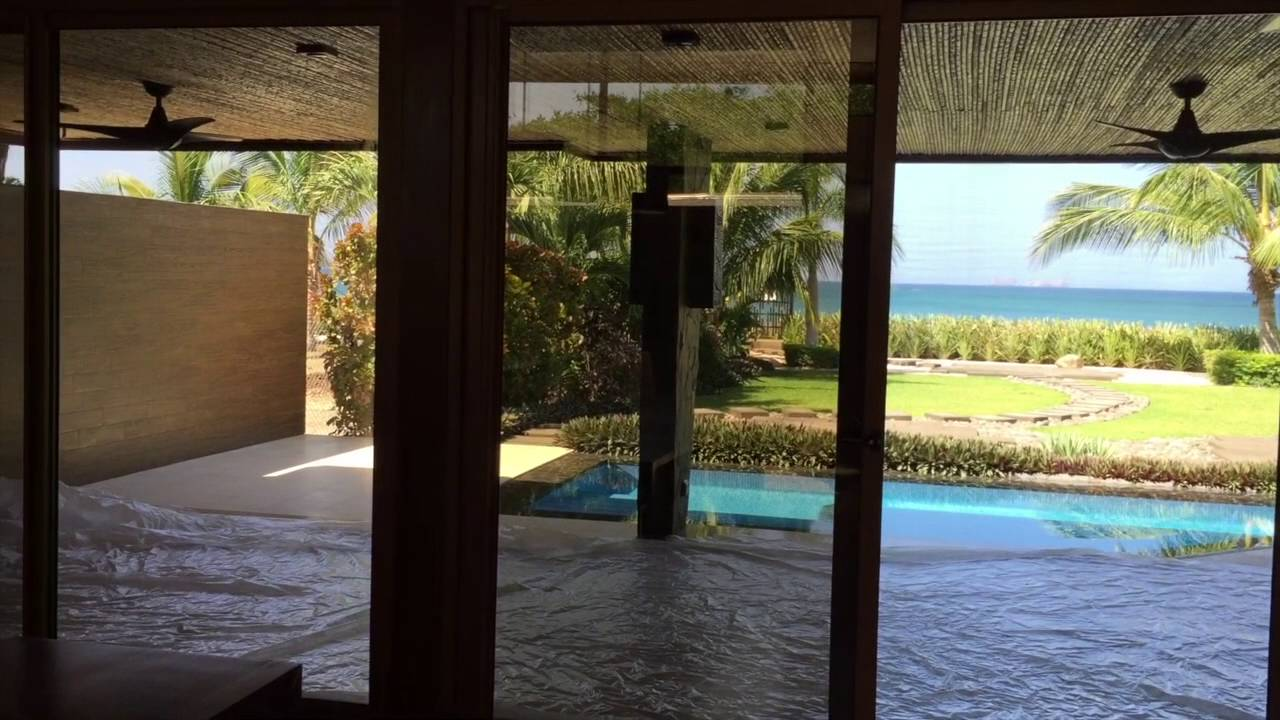 Beachfront House For Sale Costa Rica Modern Design Youtube