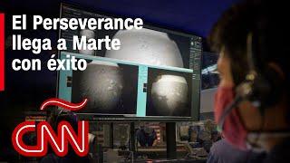 El Perseverance llega a Marte con éxito