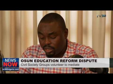 CIVIL SOCIETY GROUP WADES INTO OSUN STATE EDUCATION DISPUTE