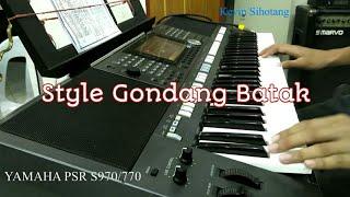 Memainkan Style Gondang di Yamaha PSR S970/770