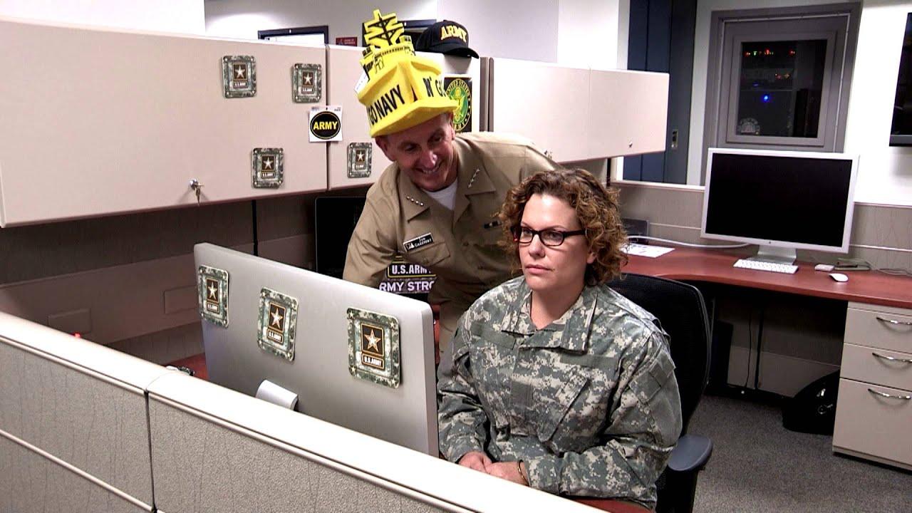 CNO Army Navy Spirit Video