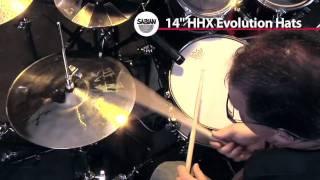 14 hhx evolution hats sabian hihat cymbal demo