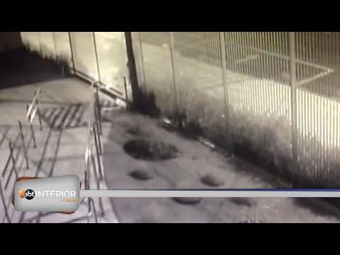 Imagens mostram acidente que matou mãe e filho