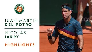 Juan Martin Del Potro vs Nicolas Jarry - Round 1 Highlights | Roland-Garros 2019
