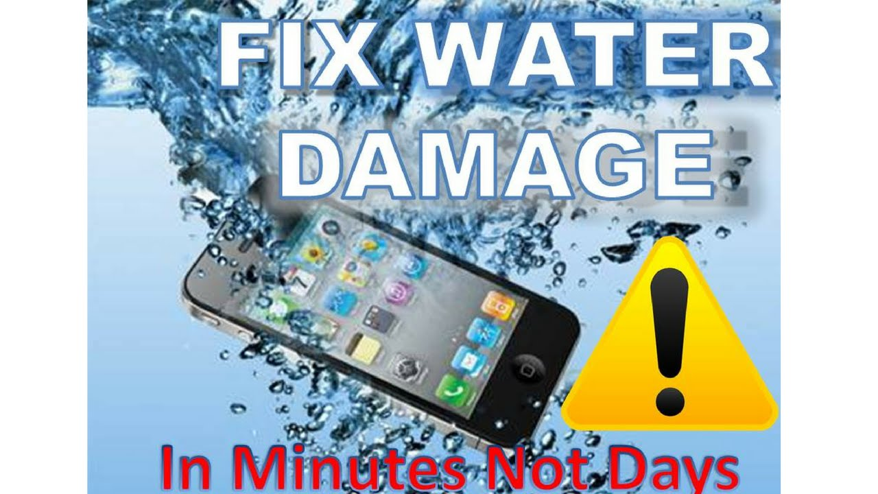 how to fix a wet cell phone in minutes not days youtube