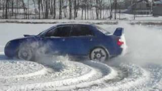 Conor Daly snow drifting 2010 thumbnail