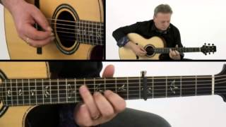 Celtic Guitar Lesson - #24 Tullochgorum - Tony McManus