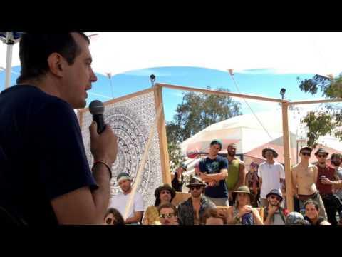 Andreas Antonopoulos - Hacktivist Village Stage @Symbiosis Gathering 2016