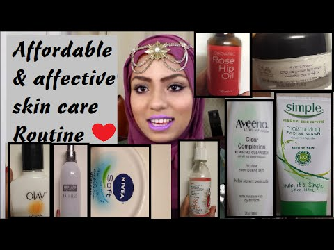 AFFORDABLE & EFFECTIVE SKIN CARE ROUTINE FOR COMBINATION SKIN- HIJABADORE
