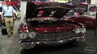 1960 Cadillac Convertible Copper Caddy from Kindig It Design at SEMA 2015 - Eastwood