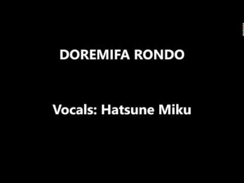 - Doremifa Rondo - lyrics