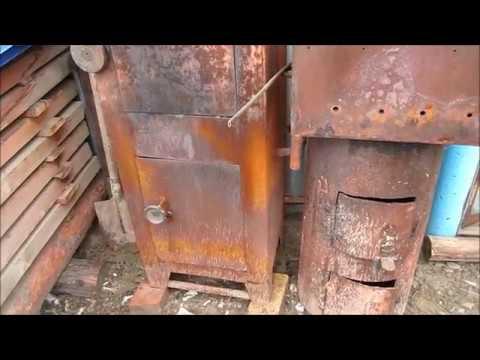 Коптильня из сейфа своими руками видео