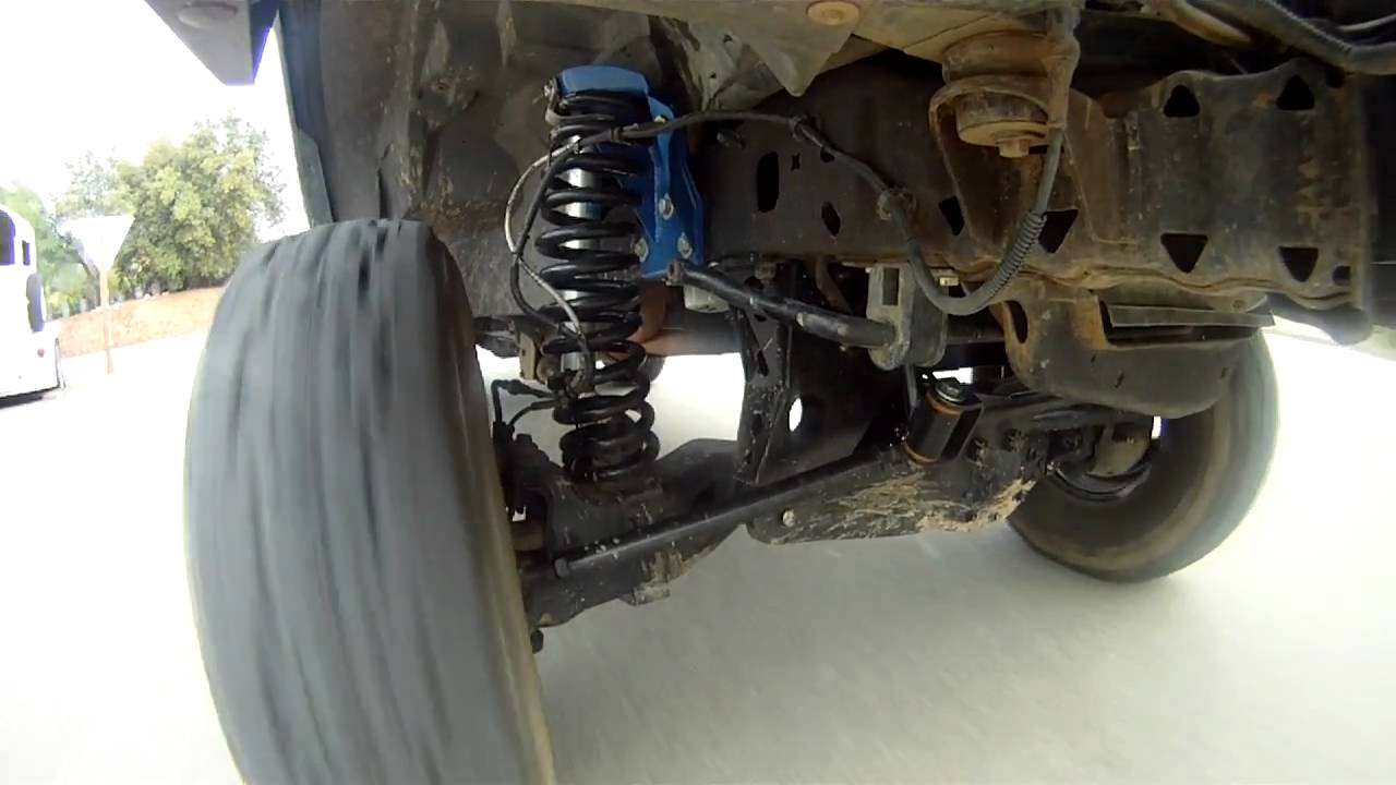 GoPro Video: Ford Ranger TTB Suspension In Action - YouTube