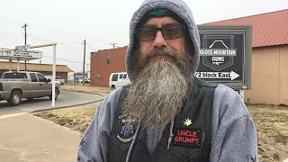 Grumpy goes to Waynoka Oklahoma for patient rally