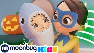 Halloween BABY SHARK Dance | +MORE NEW Little Baby Bum: Nursery Rhymes & Kids Songs | Moonbug Kids