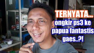 PENGIRIMAN PS3 KE MERAUKE (PAPUA)