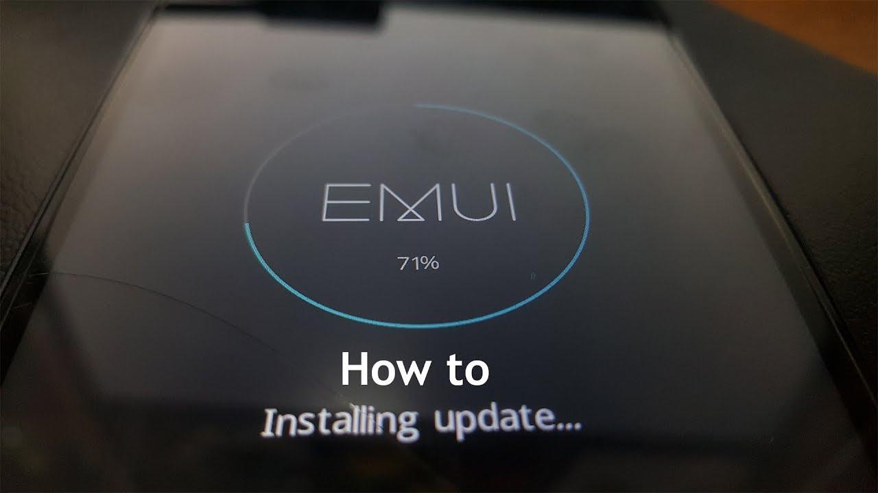 How do I manuel update my Huawei? (Local Update)