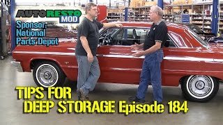 Tips For Long Term Classic Car Storage Episode 184 Autorestomod