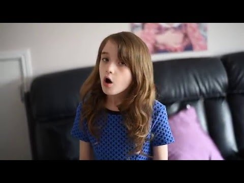 Hannah aged 8 singing Wings by Birdy