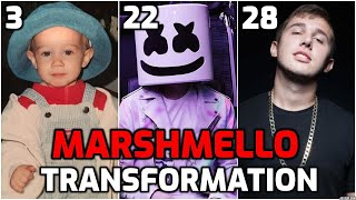 Marshmello | Transformation  from 1 to 28 years old | Girlfriend, Biography, Lifestyle, Songs, 2020