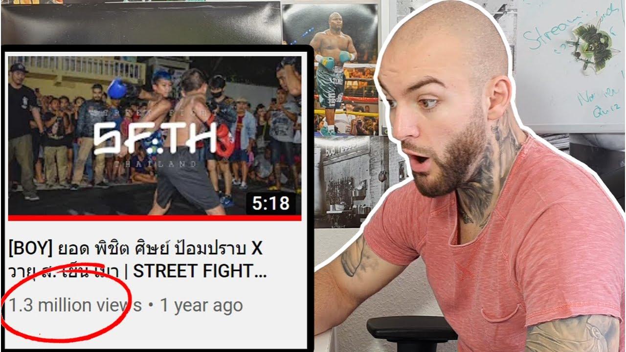 STREETFIGHTS in Thailand! Die Kids kämpfen härter als jeder Mann! RINGLIFE reaction
