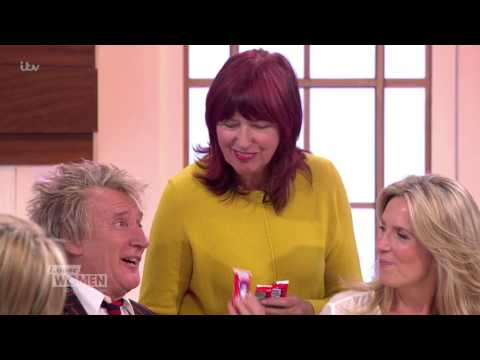 Rod Stewart Comes To Work With Wife Penny | Loose Women
