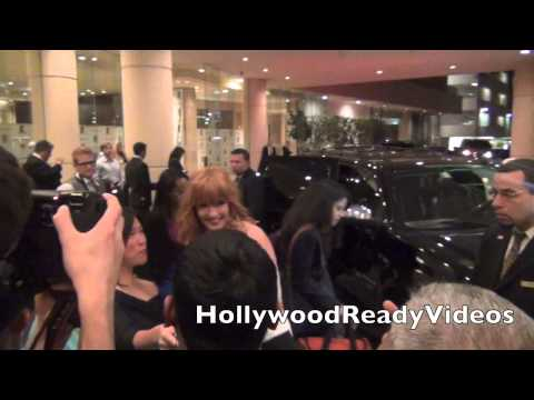 Kelly Reilly Greets  Leaving The LA Film Awards in Hollywood!