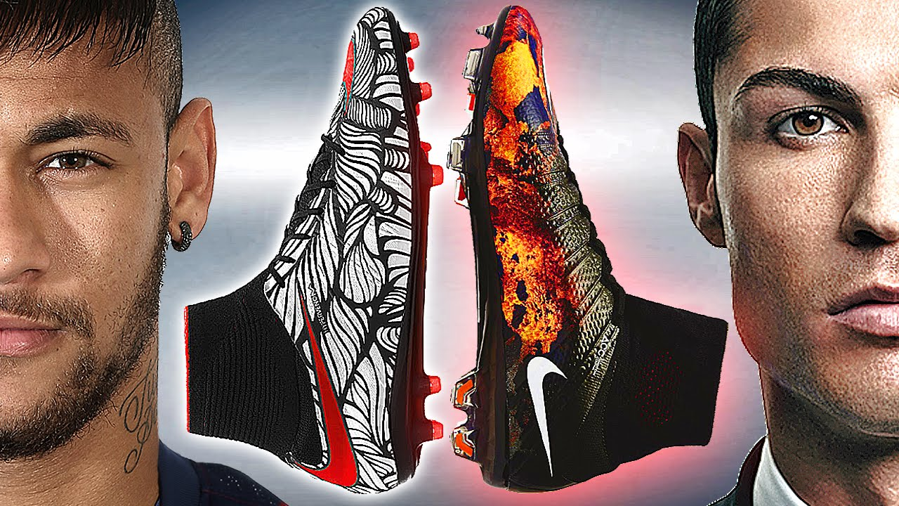 Neymar Jr. vs CR7 Ronaldo Boot Battle: Nike Hypervenom II vs Mercurial  Superfly 4 - Review - YouTube