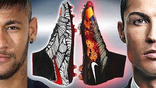 neymar jr vs cr7 ronaldo boot battle nike hypervenom ii vs mercurial superfly 4 review