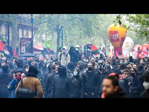 رغم القيود المفروضة لمكافحة فيروس كورونا... مسيرات في باريس وعدة مدن فرنسية بمناسبة عيد العمال