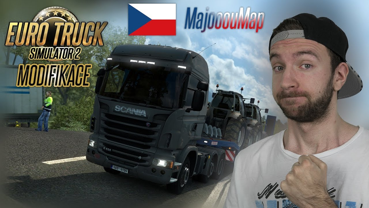 ČESKÁ MAPA!   Euro Truck Simulator 2 MajooouMap